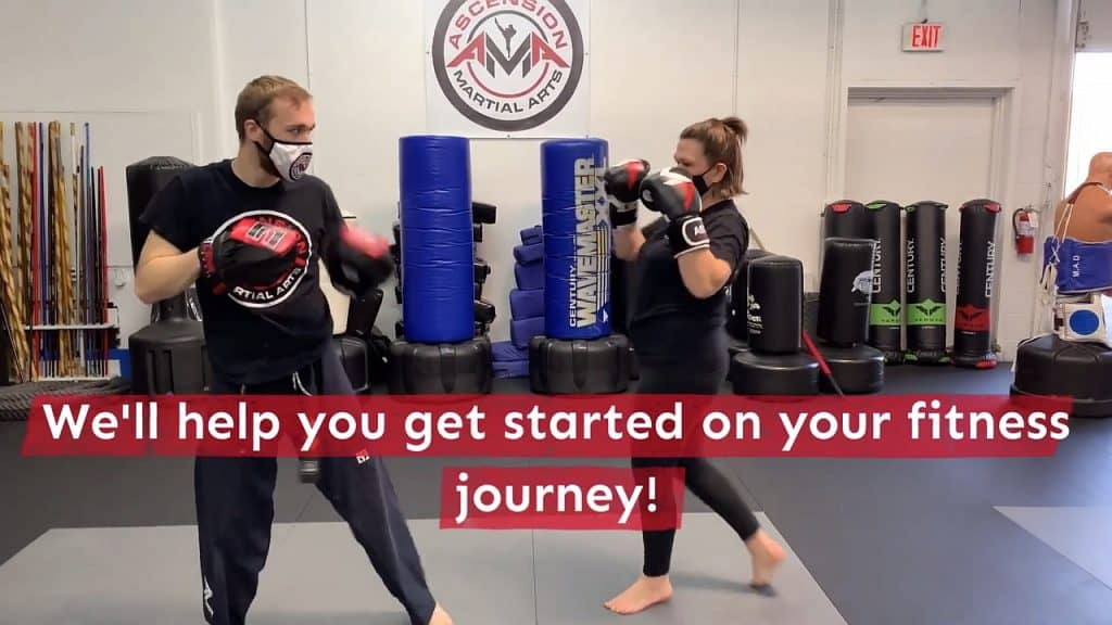 Adult kickboxing promo video at Ascension Martial Arts